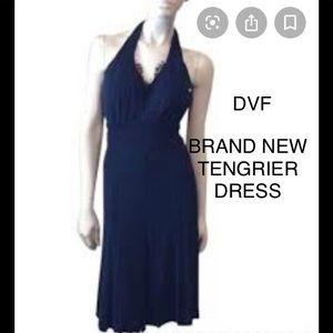 DVF-BRAND NEW (NWT)  SEXY HALTER SILK DRESS